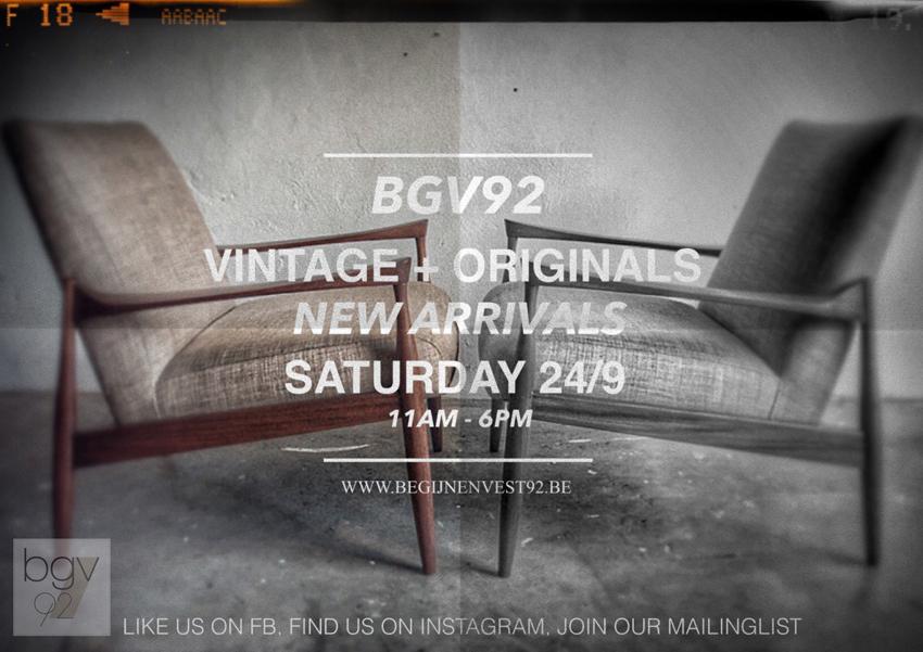 24 september open met loads of new arrivals!