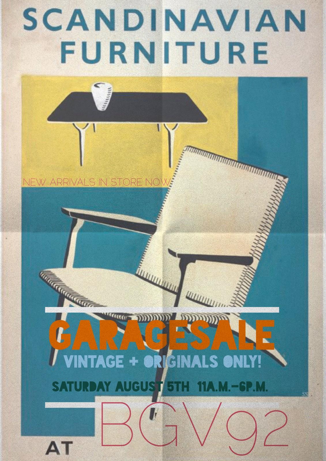 Zaterdag 5 augustus, open met veel nieuwe, interessante spullen. Vintage galore!