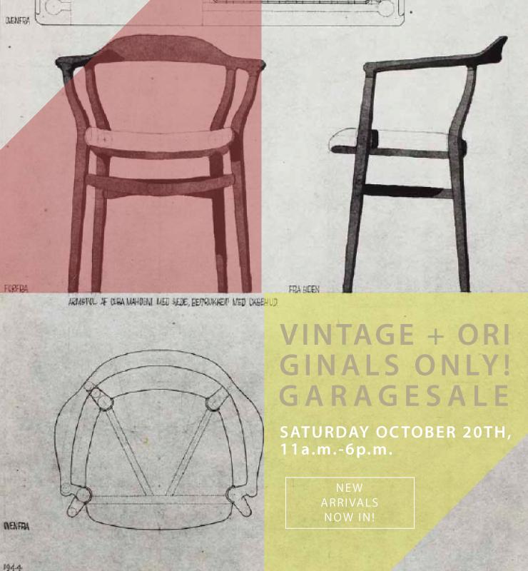 Zaterdag 20 oktober open met vele nieuwe vintage stukken voor uw interieur
