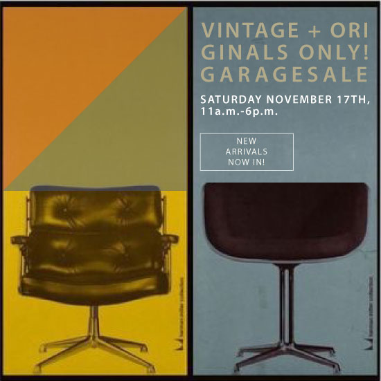 Zaterdag 17 november, vintage+originals only! Only @ Garagesale BGV92
