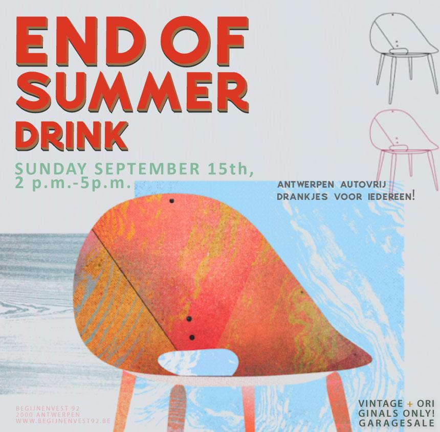 Hef met ons het glas op het einde van de zomer (en 't stad autovrij)